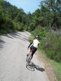 Janet on Klau Mine Road