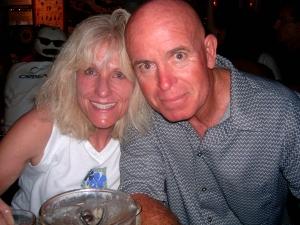 Steve with friend Teresa Steele